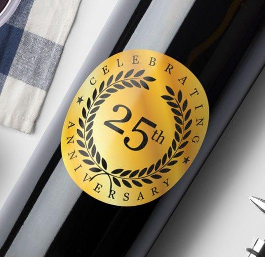 Anniversary Logo - London Wine Academy